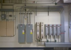 Interior electrical distribution systems