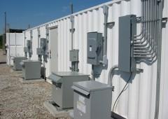 exterior electrical power distribution