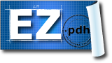 EZ-pdh Logo of Engineering Blueprint for PDH Courses